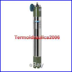 SAER 6 Water Filled Borehole Submersible Motor MS152 5,5Hp 230V 50Hz 10000 Ax