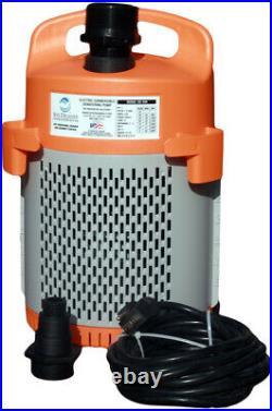 SD 300 Site Drainer 1/2 HP 115V Non-Clogging Submerisble Dewatering Pump SD300