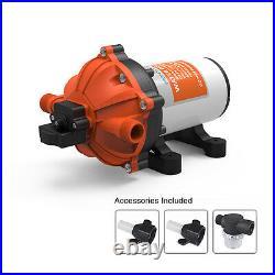 SEAFLO 5.5 GPM High Pressure Water Pump 12V DC 60 PSI on demand Boat Marine