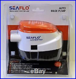 SEAFLO Automatic 750GPH Submersible Bilge Water PUMP 4 Year Warranty Boat Auto