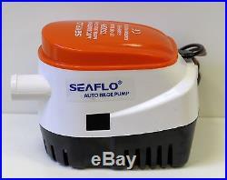 SEAFLO Automatic 750GPH Submersible Bilge Water PUMP 4 Year Warranty Boat Auto