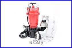 ++ SEWAGE PUMP 2 TRASH DIRTY WATER GARDEN SUBMERSIBLE MAR-POL M79900 0.75 kW ++