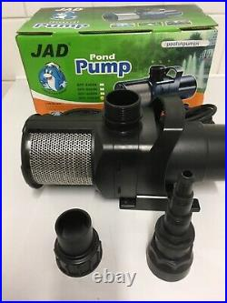SPF 5500 LPH Pond Pump Ceramic Shaft Open Impeller Water Fall Aquaculture Hydro