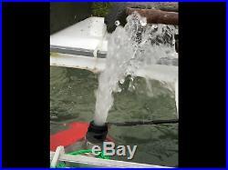 STEELPUMPS GRAF RAINWATER HARVEST WATER TANK SUBMERSIBLE PUMP 240v & PICKUP PIPE