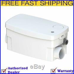 Saniflo 010 SANISHOWER Light Duty Gray Water Pump, White