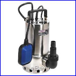 Sealey Submersible Water Pump Automatic Dirty Water 225ltr / min 230V WPS225A