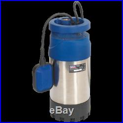 Sealey WPS92A Stainless Steel Submersible Clean Water Pump 240v