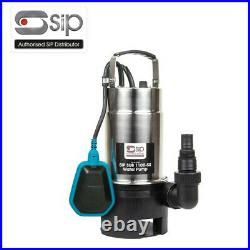 Sip 06869 1100-ss Submersible Water Pump 1000w 1.3hp (dirty Water)