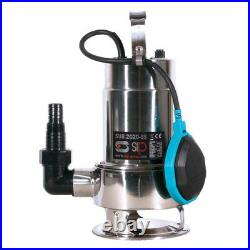 Sip 2020ss Submersible Dirty Water Pump Powerful & Copper Wound 750w Motor