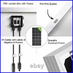 Solar Deep Well Pump System, 24V Water Pump+200W Mono Solar Panel for Irrigation