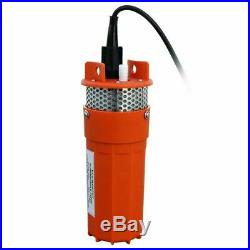 Solar Panel &12V Submersible Pump Deep Well DC Pump High Flow for Watering Farm