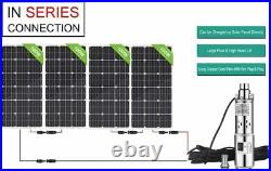Solar Photovaltaic Water Pump Deep Well Submersible Borehole Pump Battery Kit