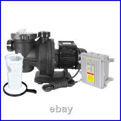 Solar Powered Water Pump System 800W Solar Panel + 500W Swimming Pool/Spa Pump