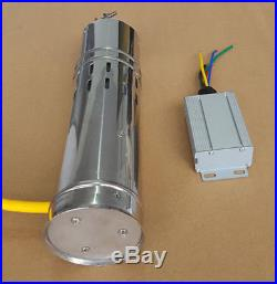 Solar Water Pump 12 V DC Submersible Water Pump 10M/20M Deep Well Steel 3m³/h