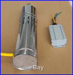 Solar Water Pump 12 V DC Submersible Water Pump 10M/20M Deep Well Steel NEW