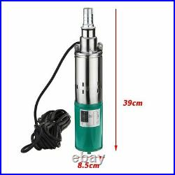 Solar Water Pump DC Screw Submersible For Irrigation Garden Home Agricultural