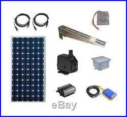 Solar Water Pump Kit Multipurpose Submersible Pump 130 GPH Solar Water Pump