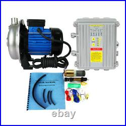 Solar Water Pump SystemPowerful Self-priming Boost Pump Kits &1200W Solar Panel