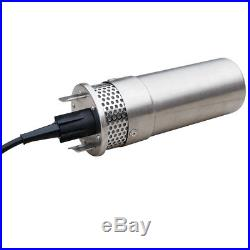 Stainless Steel 24V Solar Powered Submersible Deep Water Well Pump for Watering