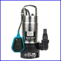 Stainless Steel Dirty Water Sub Submersible Pump Clean Electric Flood Heavy Duty