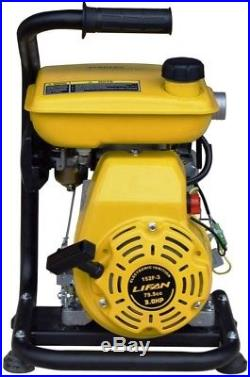 Stanley 3 HP Non-Submersible 1.5 in. Displacement Water Pump