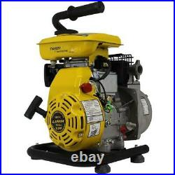 Stanley 3-HP Non-Submersible Water Pump Gas Powered 0.37-gal Cast-Iron Housing