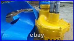 Stanley 3 Hydraulic Submersible Water Pump With New Connections Ex Council