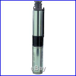 Star Water 1-HP 3-Wire 230V 4-inch Stainless Steel Submersible Well Pump