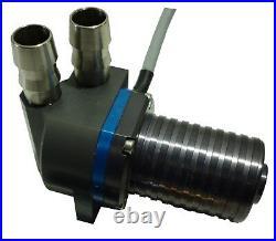 Submersible Aluminum Alloy Brushless Centrifugal Micro 12V Pump 158 GPH HP500S