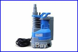 Submersible Clean/Dirty Water Sump Pump 1hp with built in automatic ON/OFF with