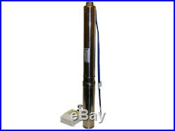 Submersible Deep Well / Drilling Water Pump, 4m³ / H 112m, 1.1kw