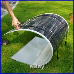 Submersible Deep Well Solar Water Pump 12V+160W Flexible Solar Panel+Controller