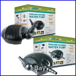 Submersible Garden Water Pond Pump for Filters + Waterfalls choice of sizes NEW