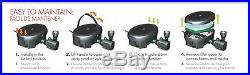 Submersible Pond Fountain Pump Filter Combo Light Clean Algae LED Yard Garden