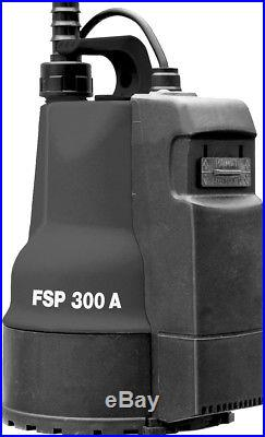 Submersible Pump FSP 300 Automatic 6000002119 300A Dirty Water Clear