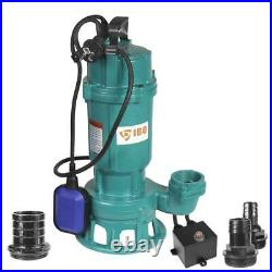 Submersible Pump with Grinder Furiatka Sewage Dirty Water Deep Well Septic