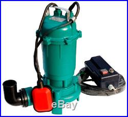 Submersible Sewage Dirty Water Deep Well Septic Pump with Grinder 15000 l / h