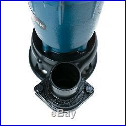 Submersible Sewage FLOOD Water Pond Drain Septic Sump Cesspool Grinding Pump