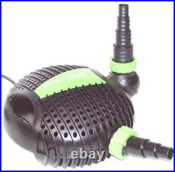 Submersible Water ECO Pond Garden Pump 8500L/H KOI FISH 55083 FILTER WATERFALL