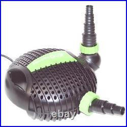 Submersible Water ECO Pond Garden Pump Filter 3200L/H KOI FISH WATERFALL