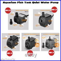 Submersible Water Pump Fish Tank Pond Aquarium Pump Feature Waterfall Sump Pump