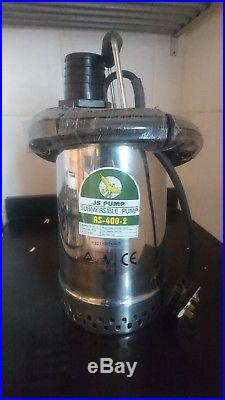 Submersible Water Pump RS 400, 240v condition new, never used rs-400-2