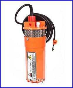 Submersible Water Well Pump -Solar Powered For SCH40 4 Inch Well Pipe