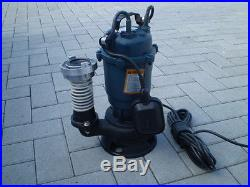 Submersible pump Float 2950W IDEAL FOR DIRTY WATER. With 20 m of hose