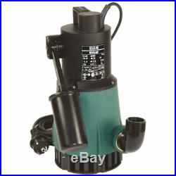 Submersible sump pump Clear water NOVA 600M-A 0,55Kw 230V 50Hz Float cable5m DAB