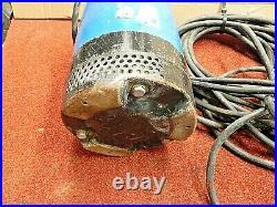 TSURUMI LB800, 2 SUBMERSIBLE WATER PUMP, 115 VOLT With50 FEET POWER CORD