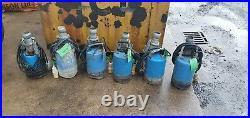 TSURUMI SUB PUDDLE PUMP 110 V 2 50mm MODEL DISCHARGE WATER SUCTION SUBMERSABLE