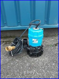 TSURUMI SUBMERSIBLE WATER HS2 INDUSTRIAL DRAINAGE WATER PUMP 110v (2 Pump)