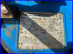 TSURUMI SUBMERSIBLE WATER PUMP 50mm HS2.4S-52 110v