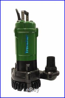 TT Pumps Heavy Duty Industrial 2 50mm Submersible Water Pump 240v